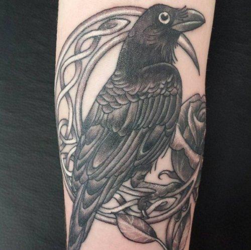 Drawn raven moon Life can 44 Celtic symbolizes