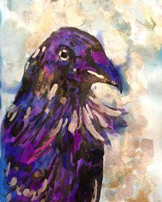 Drawn raven moon Drops Ravens Raven Mini Raven