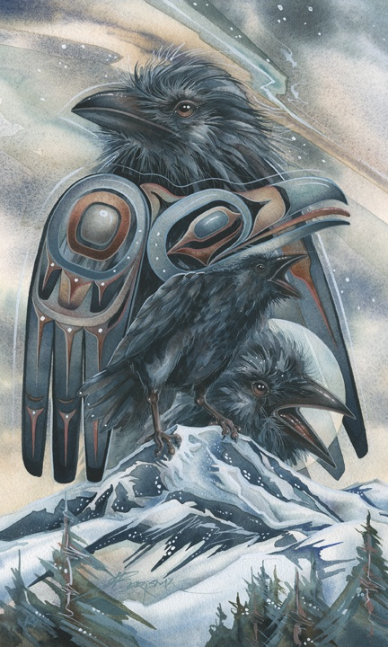 Drawn raven native american Native 195 on images Find