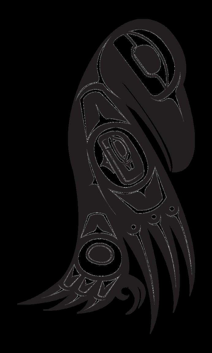 Drawn raven native american American Native symbol Raven raven