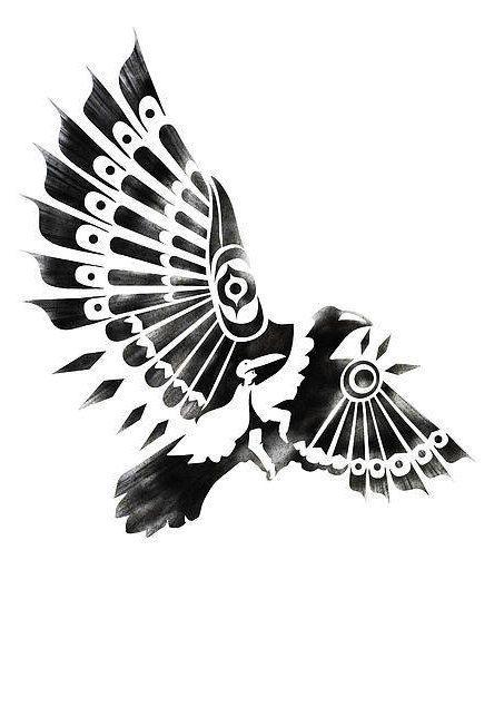 Drawn raven native american American Native Pinterest native tattoos