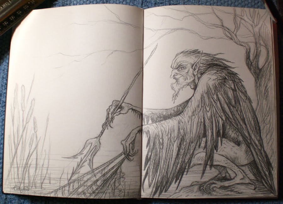 Drawn raven pencil drawing Something Sketchbook realised mission so