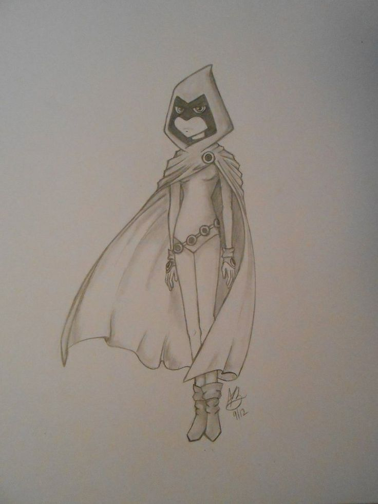 Drawn raven pencil drawing 558 Teen Raven about images
