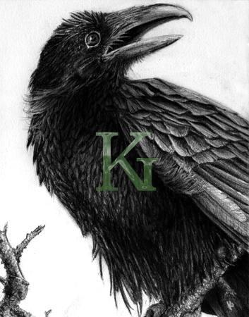 Drawn raven quality Pencil 9 stock quality high