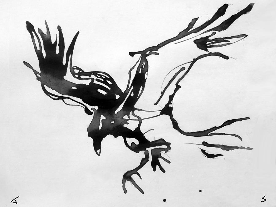 Drawn raven raven landing Raven Raven Landing John Raven