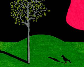 Drawn raven shadow Raven Mini Shadow or Set