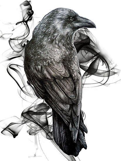 Drawn raven smoke Gothic 25+ this Best on