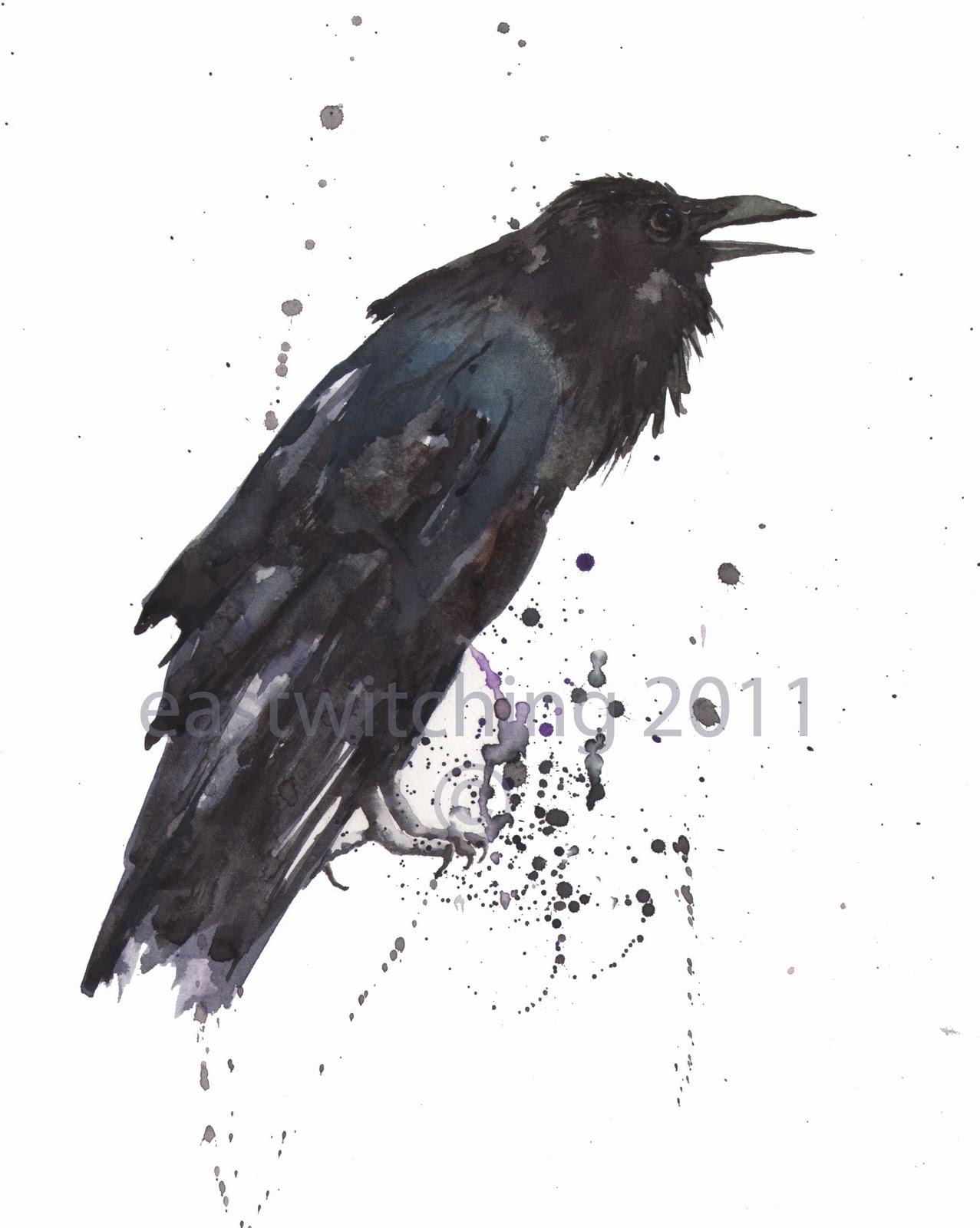 "Drawn raven spooky Spooky Print Alison ya? Cloak"""