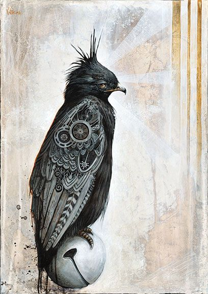 Drawn raven steampunk · Pinterest of The DrawingSteampunk