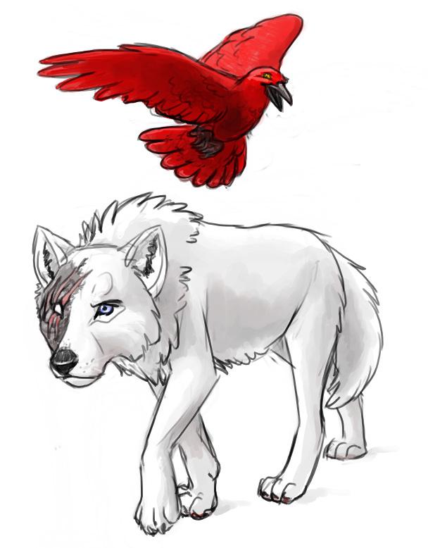 Drawn raven stuffed On by Raven DeviantArt White