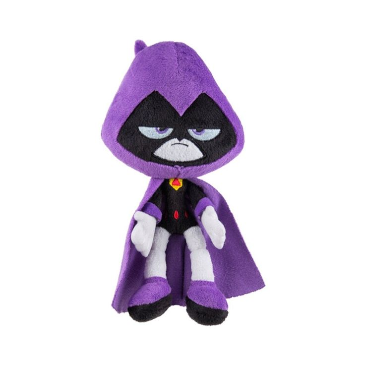 Drawn raven stuffed Titans about images on Jazwares