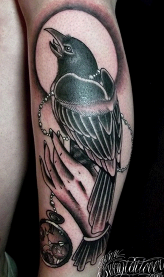 Drawn raven traditional Artistic Designs 55 raven Raven