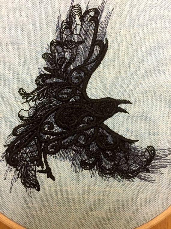 Drawn raven tree Ideas decor nevermore Allen Pinterest