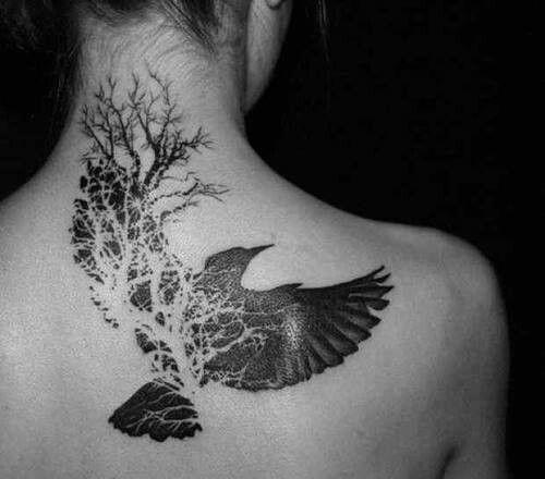 Drawn raven tree Cerca Art Raven amb Cerca