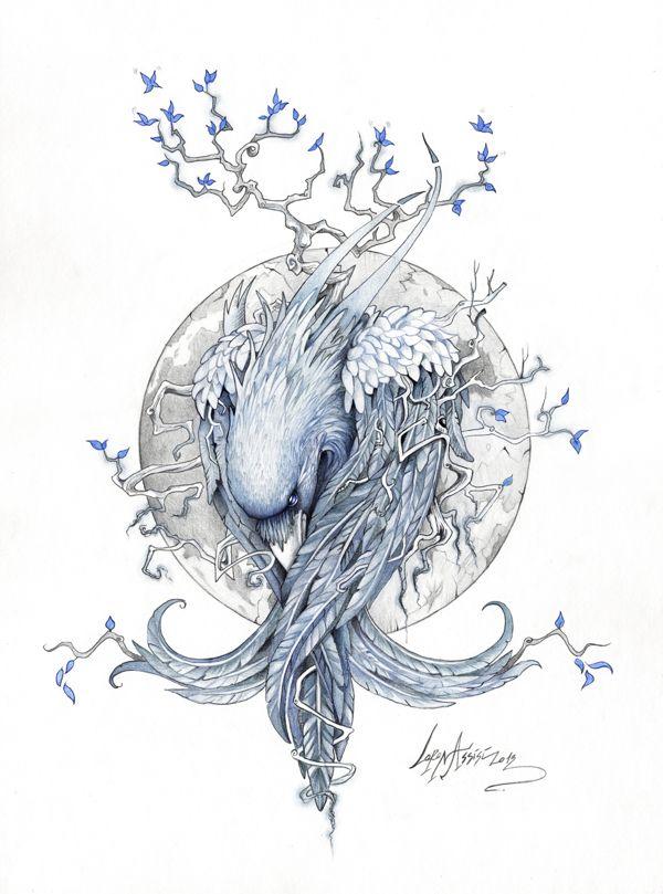 Drawn raven tree Best raven on 20+ by