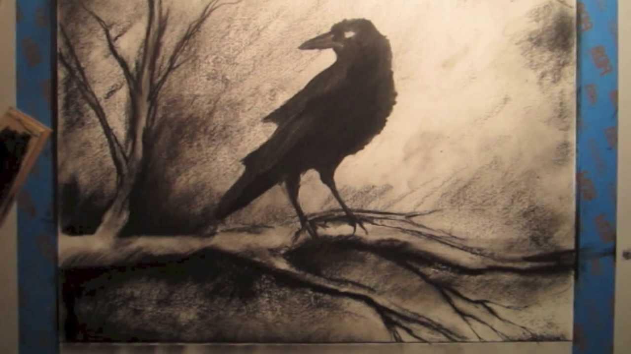 Drawn raven tree A Tutorial Tree To A