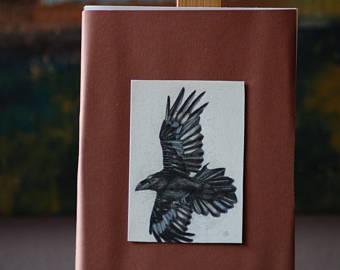 Drawn raven winter Raven Raven Raven Black Crow