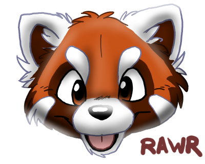 Drawn red panda cartoon Cartoon panda red Panda Cartoon