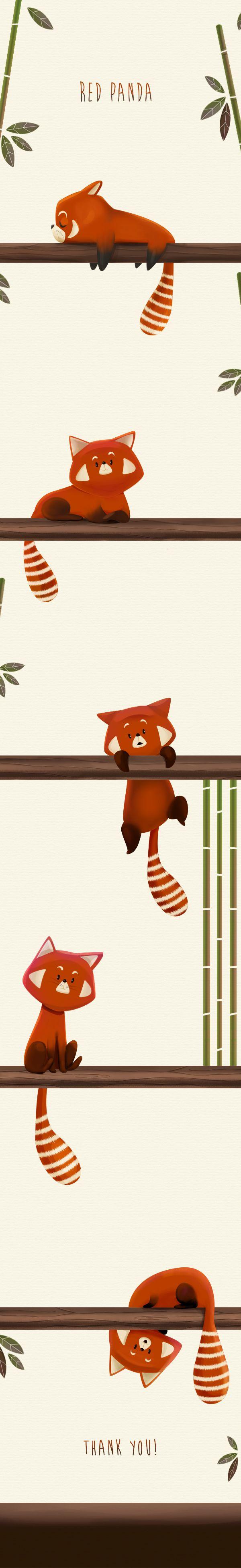 Drawn red panda china red Illustration Panda 20+ net/gallery/20013682/Red Pinterest
