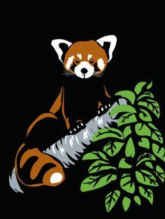 Drawn red panda epic Red Panda Panda Red Art