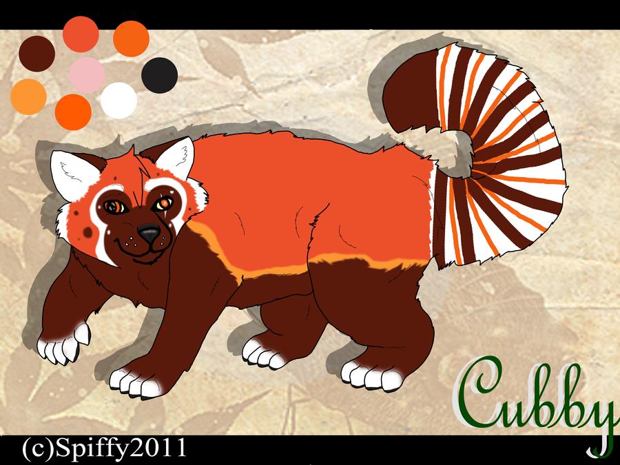 Drawn red panda fursona Red by Video Video SpiffyInu