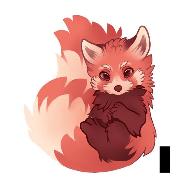 Drawn red panda fursona By xyGowenxy red panda panda