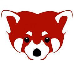 Drawn red panda its habitat Panda A R Network