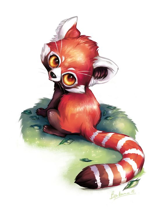 Drawn red panda japanese On roux deviantART by Pandas