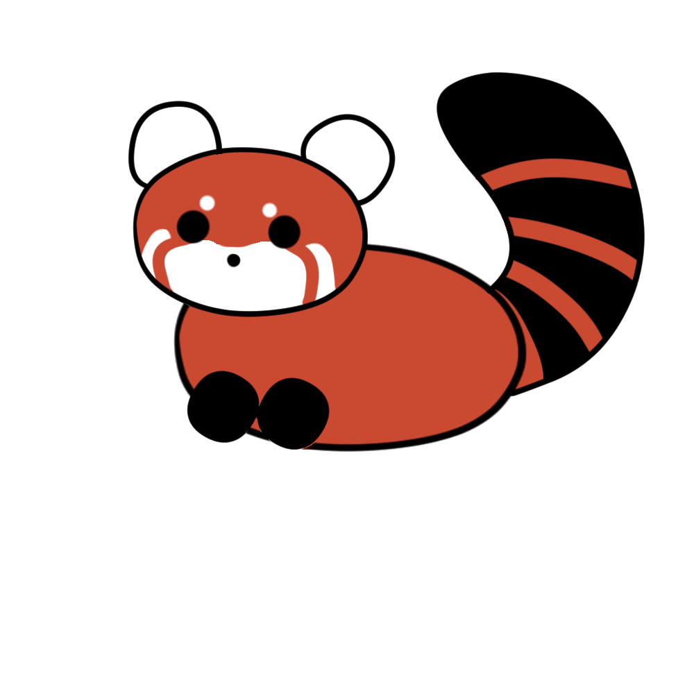 Drawn red panda sad animal WikiHow Draw 10 (with Steps