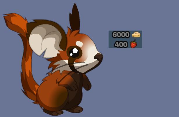 Drawn red panda transformice Red Mouse DeviantArt Katina fur