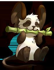 Drawn red panda transformice Image PANDAS 0 Race [RED