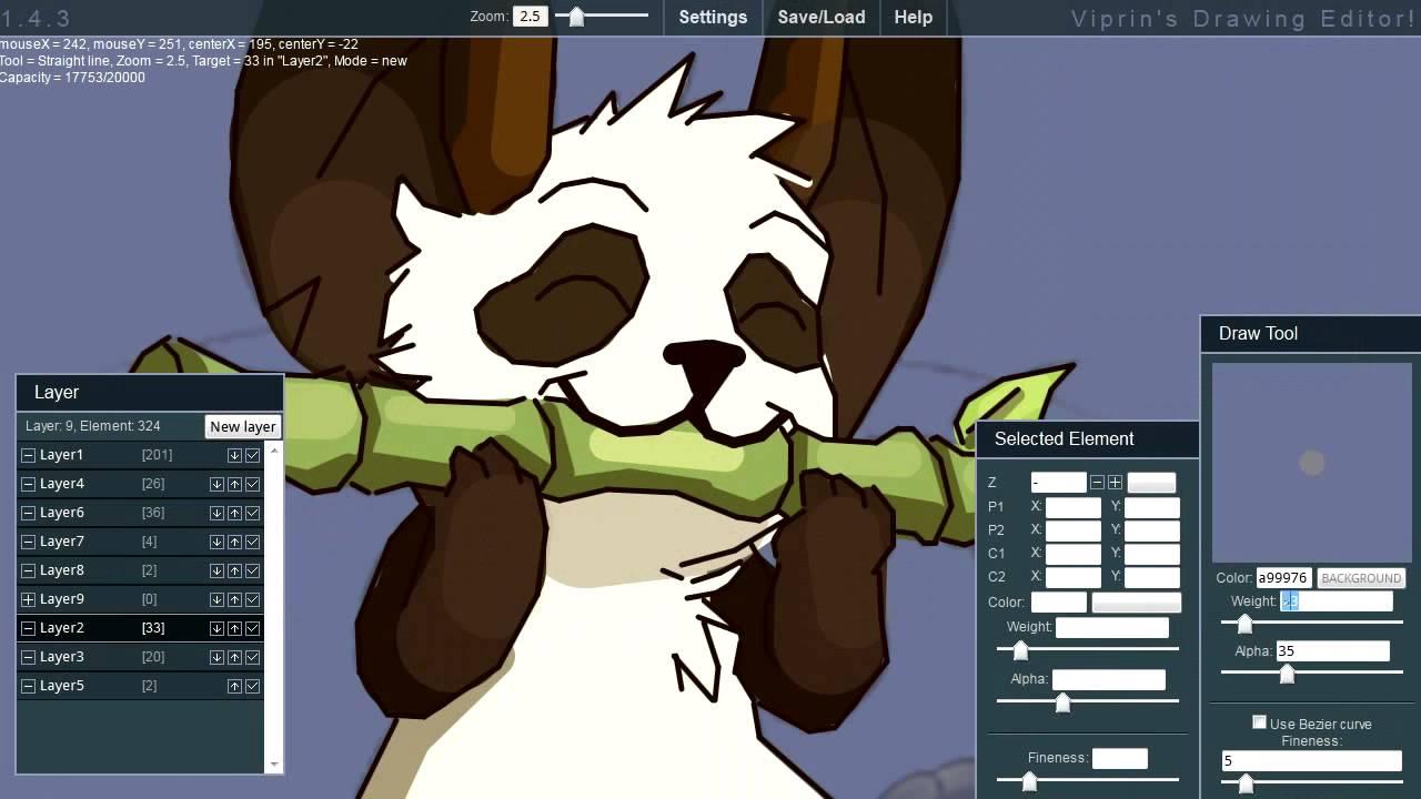 Drawn red panda transformice  Editor) (Viprin's Map Drawing