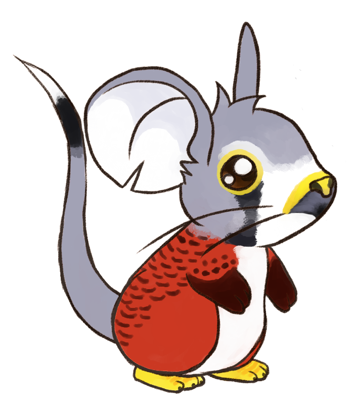 Drawn red panda transformice Transformice by  by Fur