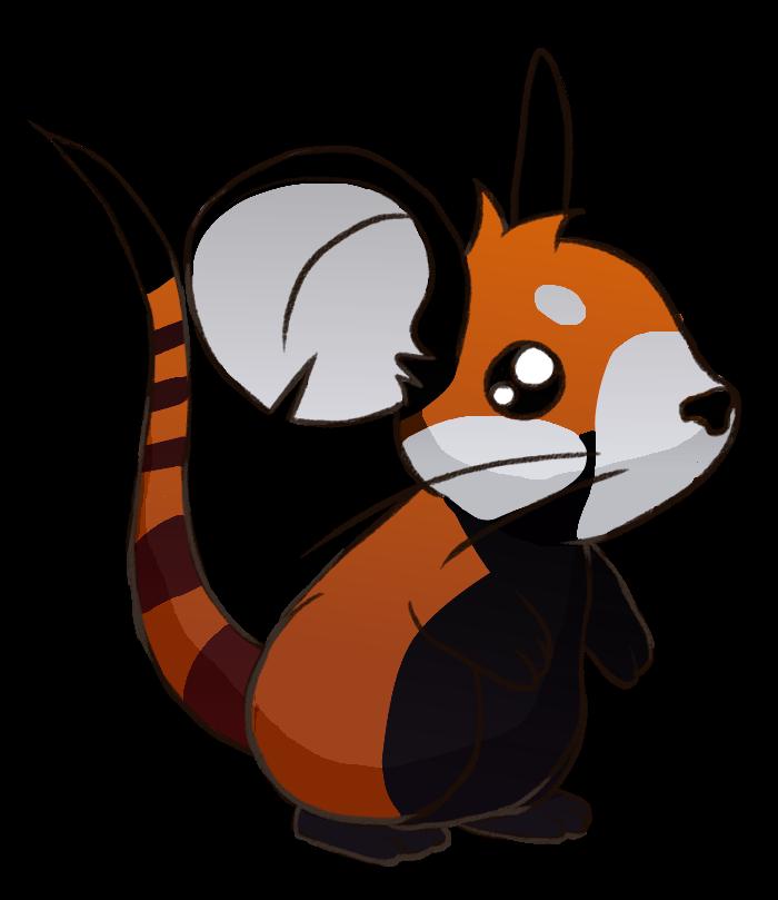 Drawn red panda transformice Http://orig10 Items net/64d6/f/2012/ Thread Gifting