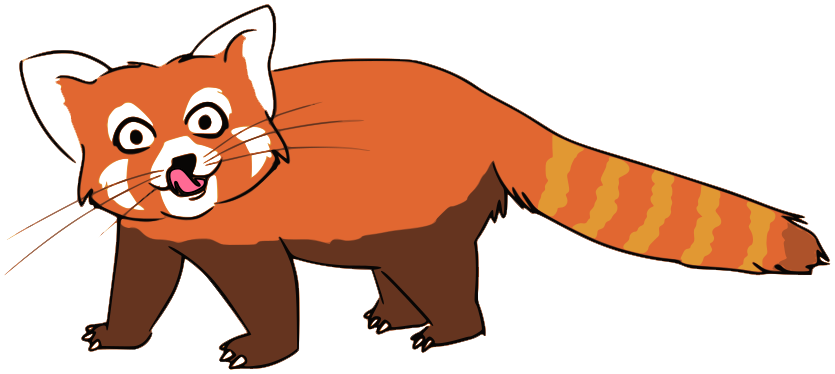 Drawn red panda transparent Images Transparent PNG PNG All