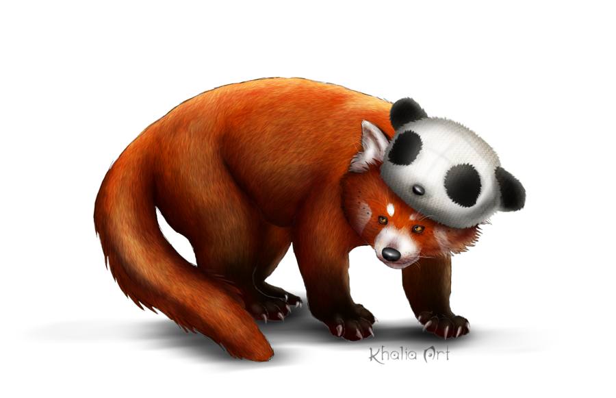 Drawn red panda transparent Red Clip Download Free