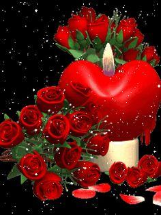 Drawn red rose animated Gifs  FRIENDS WEEKEND XXXXXXXXXXXXXXXXXXXX