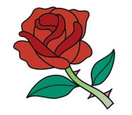 Drawn rose bush rose petal To Tutorials Flowers How