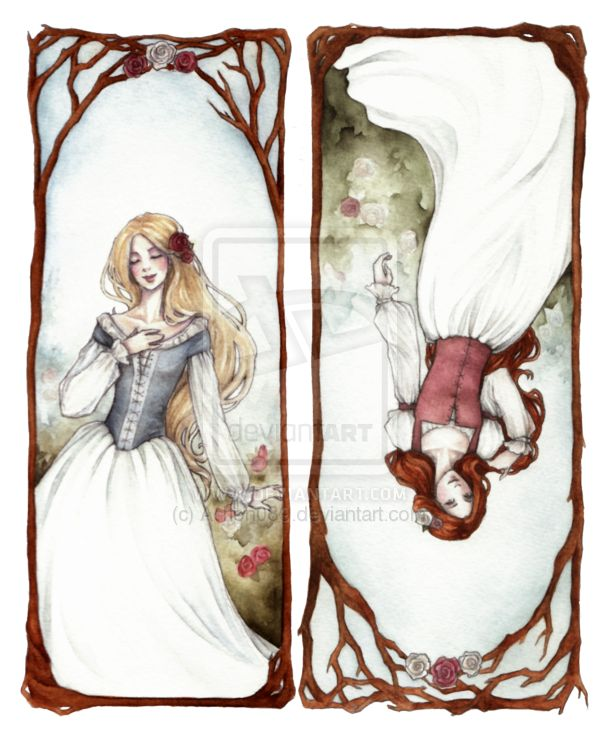 Drawn red rose art Pinterest always Grimm's everyone but