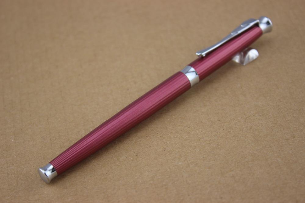 Drawn red rose ballpoint pen Ball Nib roller School Financial