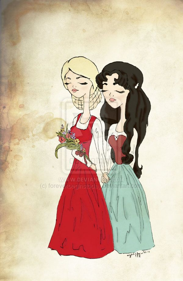 Drawn red rose disney princess Rose Rose Snow  images