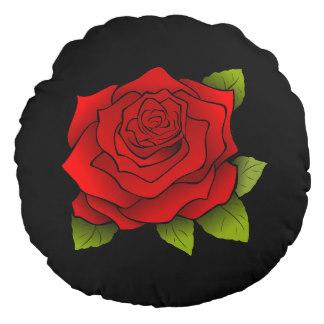Drawn red rose drawed Drawing Black Rose Red Pillow