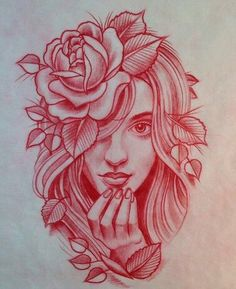 Drawn red rose head (793×1008) Rose jpg Pinteres… Pesquisa