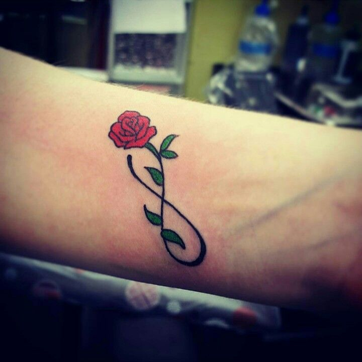 Drawn red rose little red 10/14/15 wrist red Best tattoos