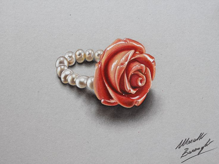 Drawn red rose marcello barenghi Barenghi on best Marcello by