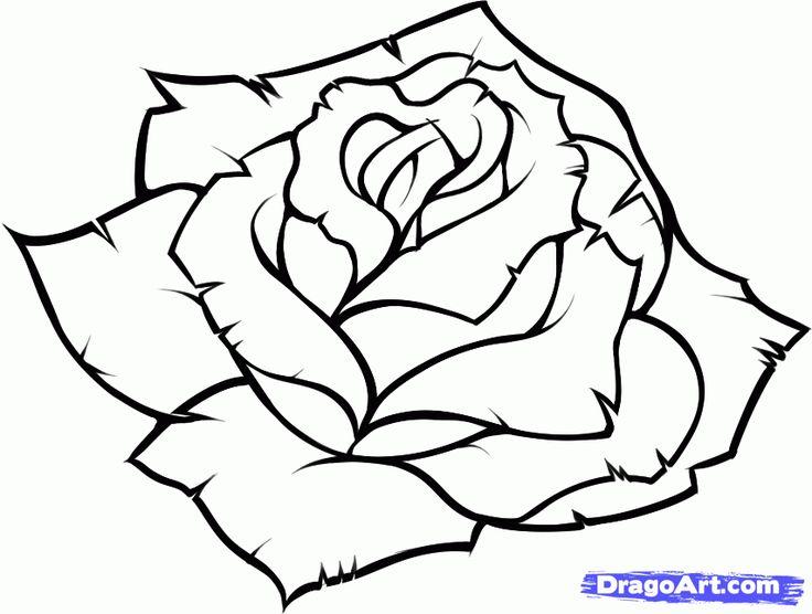 Drawn rose blue rose Drawings to draw 9 roses