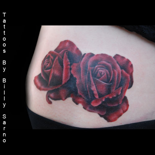 Drawn red rose purple rose Source: Vvisitingmexico Red asu Tattoo