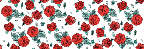 Drawn red rose transparent Index /backgrounds/floral of drawn_red_bunch_of_r