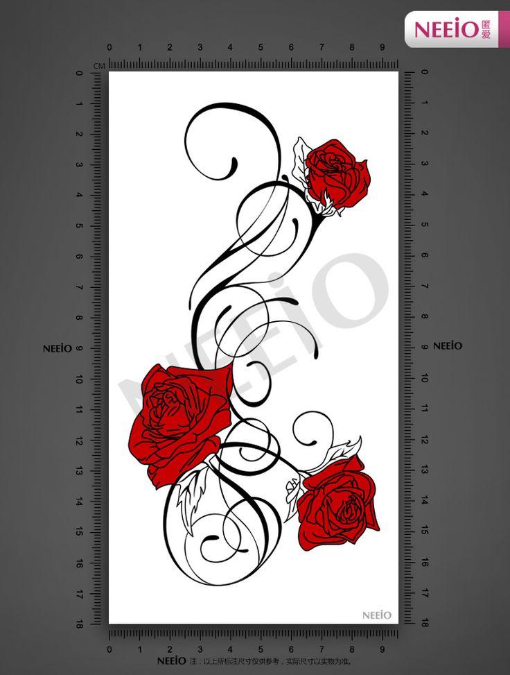 Drawn red rose vine drawing Következővel legjobb Pinteresten Aliexpress Red
