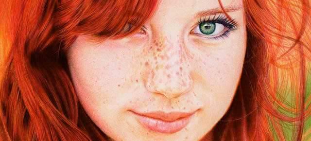 Drawn redhead Redhead of Redhead a Struggles